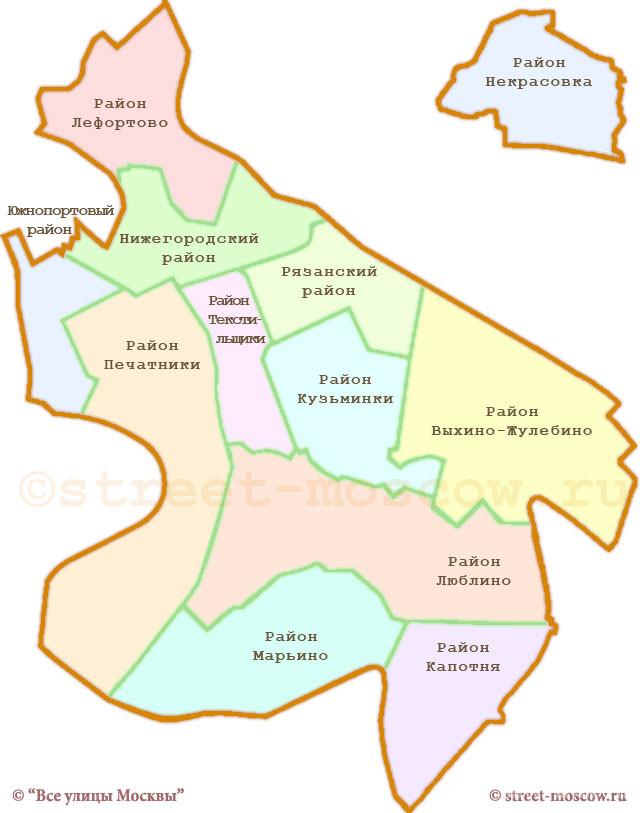В районах Марьино и Люблино отказались от референдума по объединению