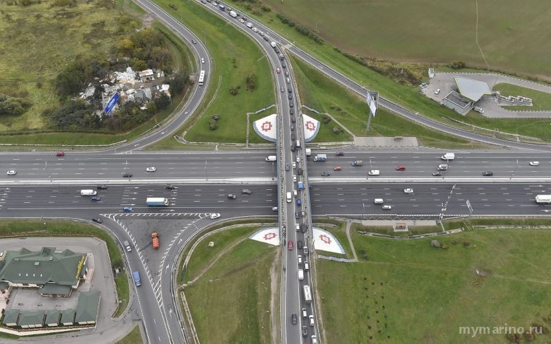 Реконструкция развязки МКАД - Бесединское шоссе