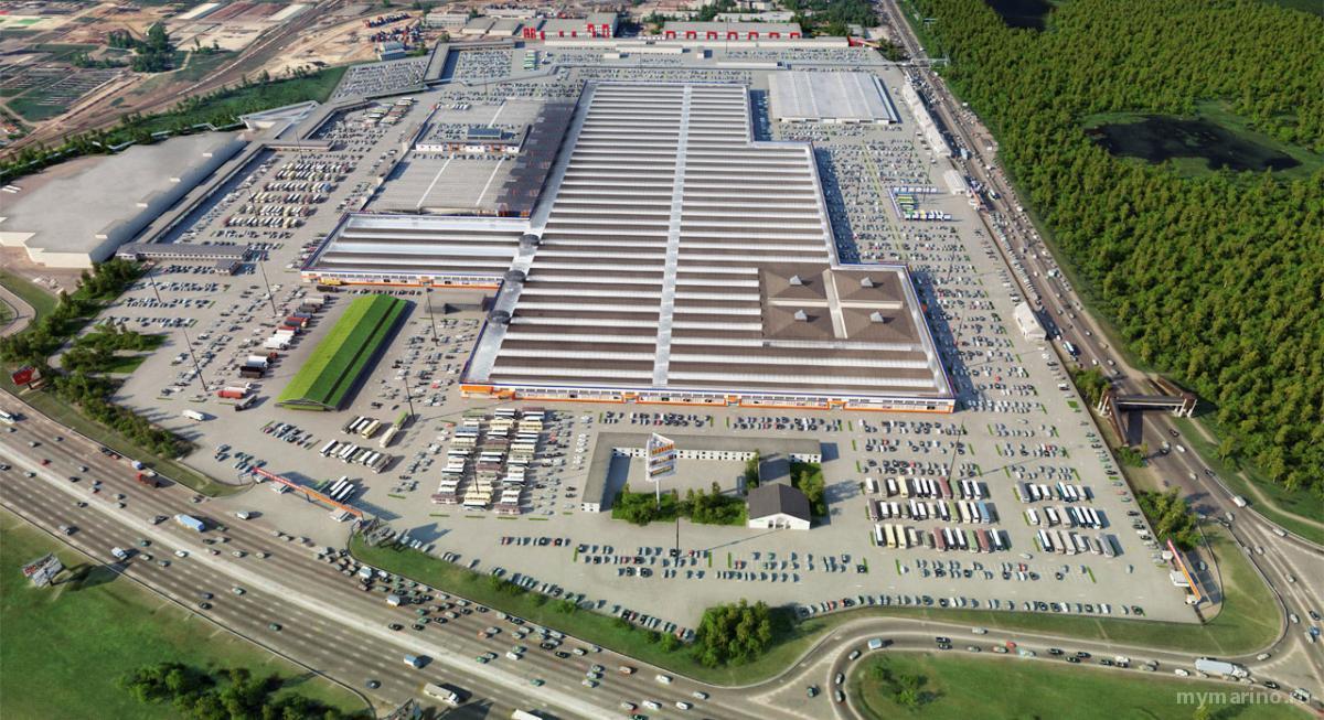 Планируется расширение парковки на рынке «Садовод»