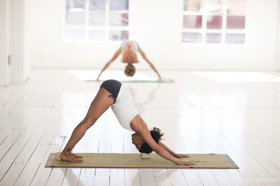 Бесплатное занятие по йоге для жителей района