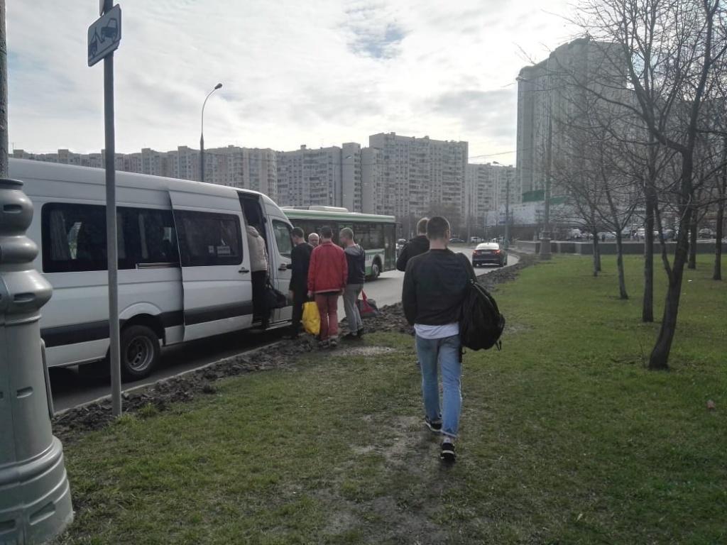 Первые отправки прошли в военном комиссариате Люблинского района