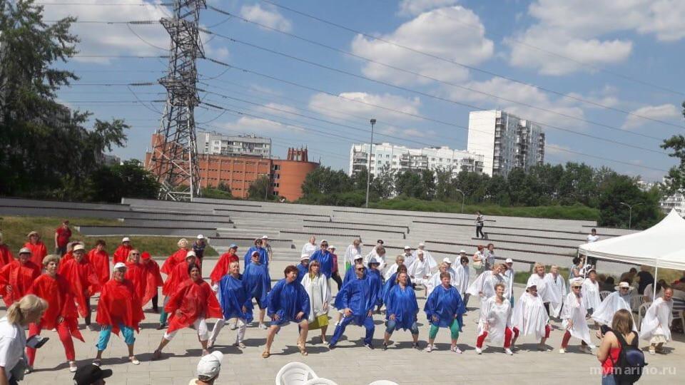 В районе Марьино прошли мероприятия ко  Дню России